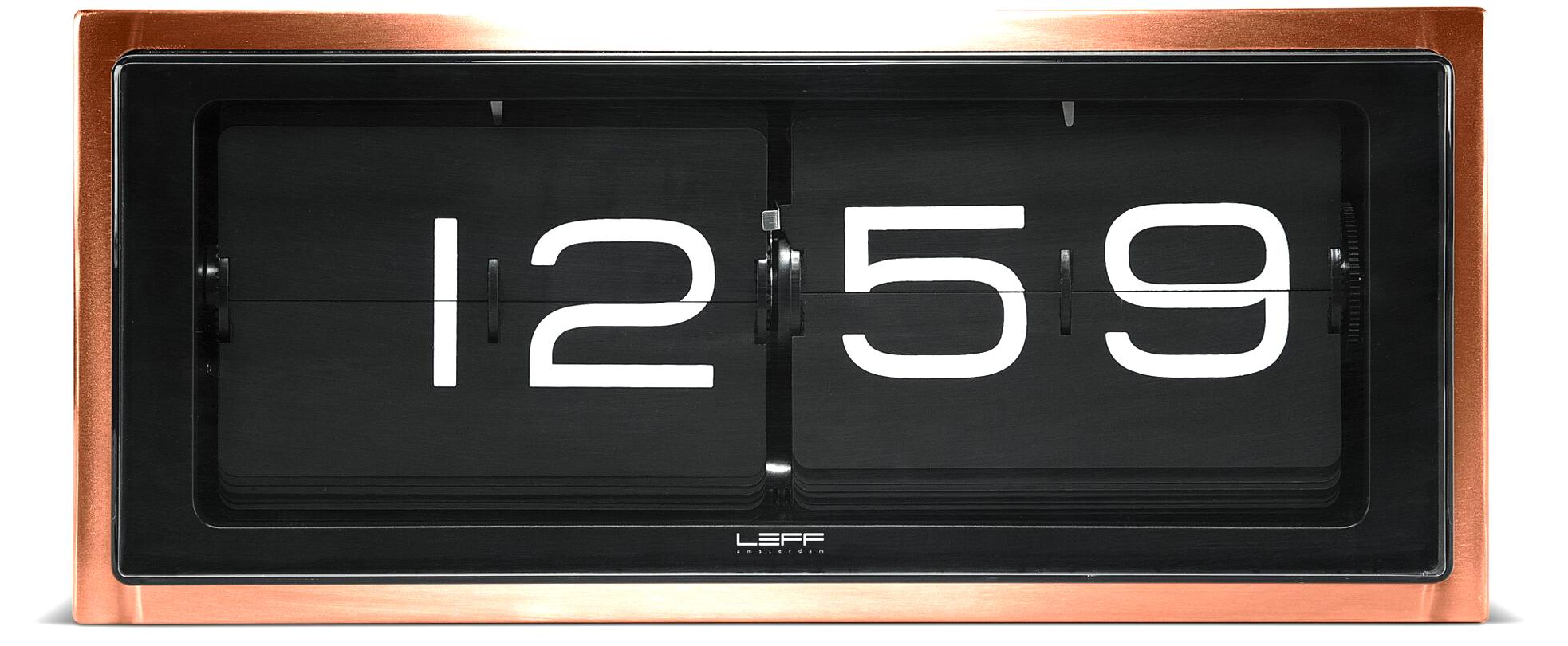 wanduhr tischuhr leff amsterdam brick24 lt15301 g nstig. Black Bedroom Furniture Sets. Home Design Ideas