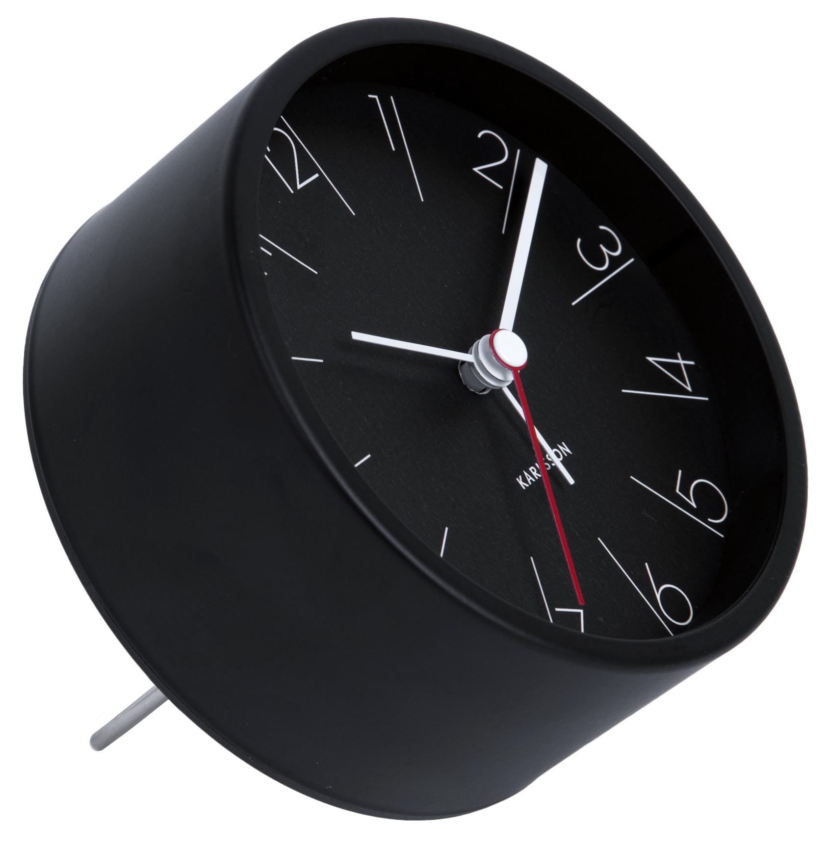 wecker karlsson elegant numbers ka5648bk g nstig auf kaufen wanduhren tischuhren. Black Bedroom Furniture Sets. Home Design Ideas