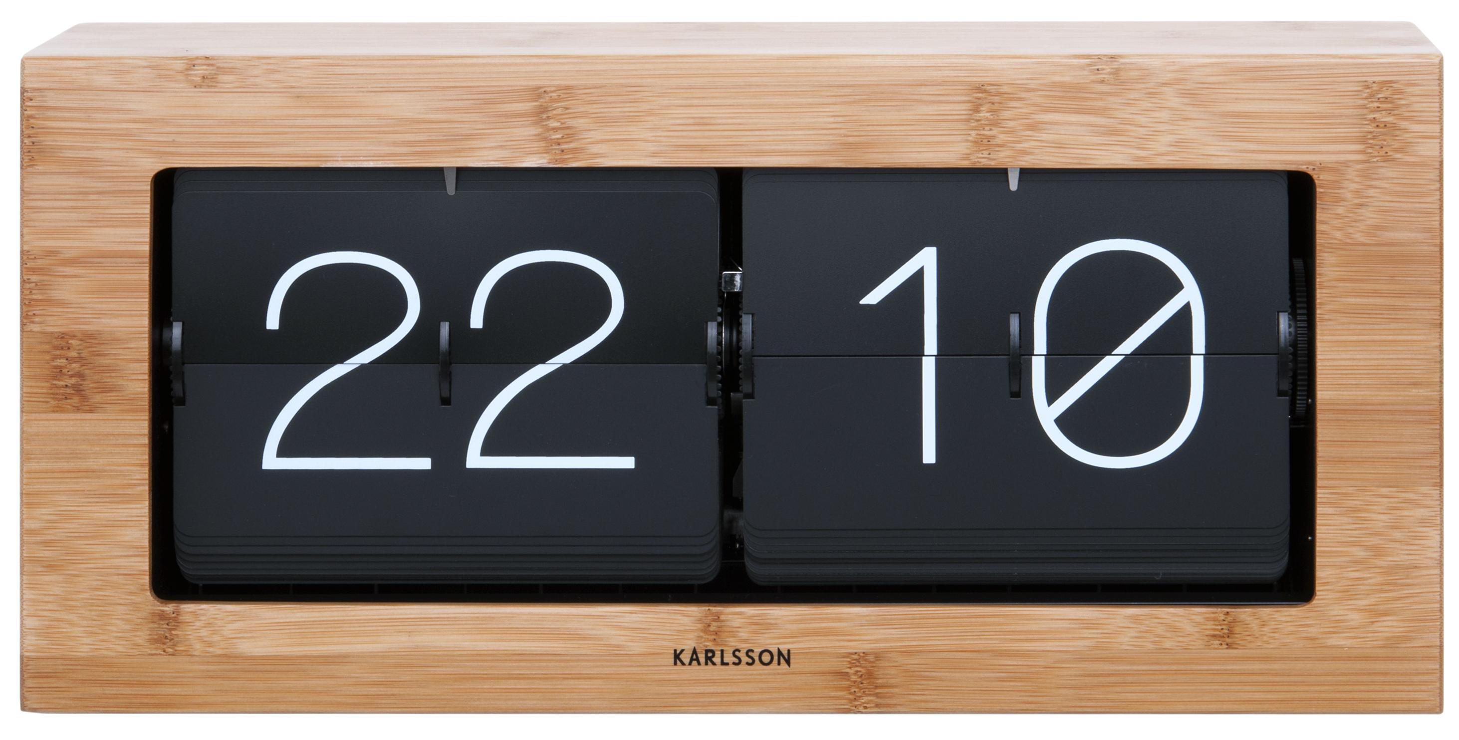 Wanduhr Tischuhr Karlsson Boxed Big Flip KA5642WD günstig auf laclock kaufen