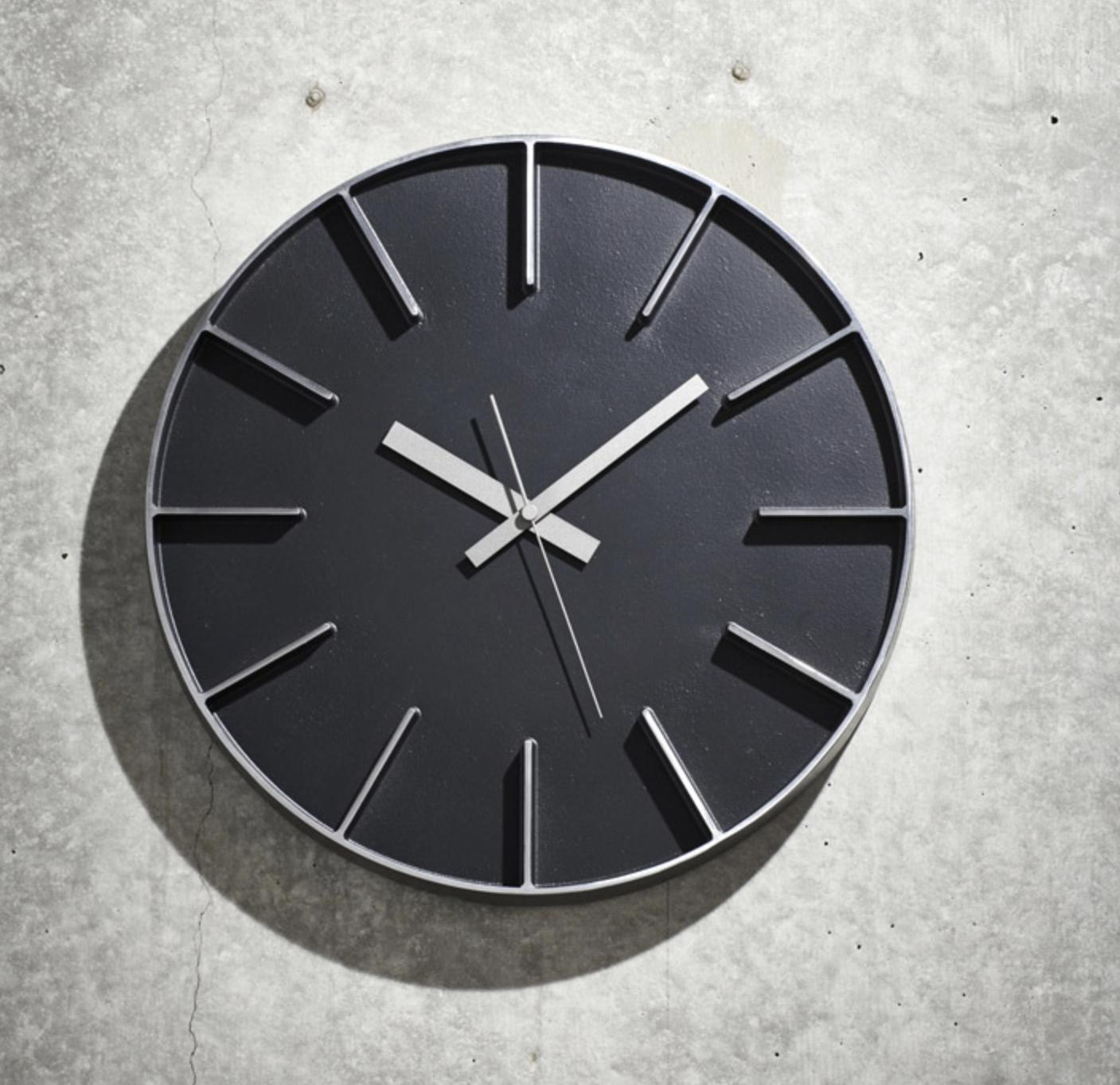 Wanduhren Modern Design Wanduhr Edge Clock Big Moderne