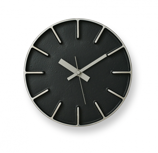 wanduhr edge clock small moderne wanduhren wanduhren. Black Bedroom Furniture Sets. Home Design Ideas