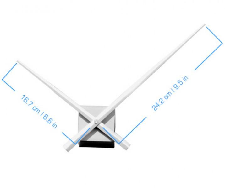 wanduhr diy cubic silber topseller wanduhren. Black Bedroom Furniture Sets. Home Design Ideas