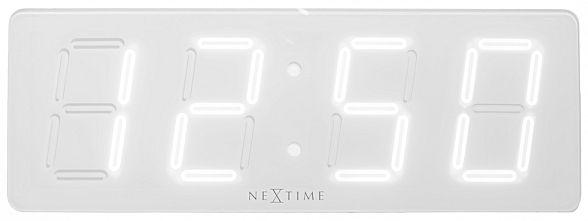 nextime wanduhr led white d 3059wi jetzt g nstig auf kaufen wanduhren. Black Bedroom Furniture Sets. Home Design Ideas