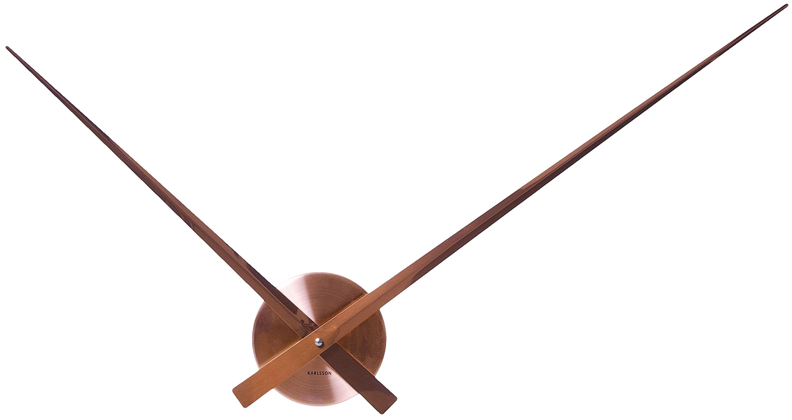 karlsson wanduhr little big time kupfer ka5516 g nstig auf. Black Bedroom Furniture Sets. Home Design Ideas