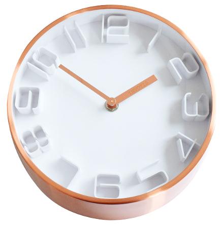 invotis wanduhr copper classic kupfer nt07c jetzt g nstig. Black Bedroom Furniture Sets. Home Design Ideas