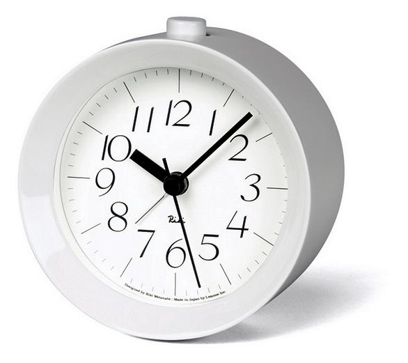 wecker riki alarm clock topseller wanduhren tischuhren. Black Bedroom Furniture Sets. Home Design Ideas