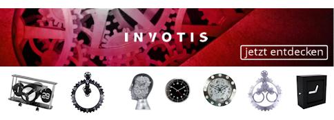 invotis shop marken shops wanduhren tischuhren wecker online kaufen laclock wanduhr shop. Black Bedroom Furniture Sets. Home Design Ideas