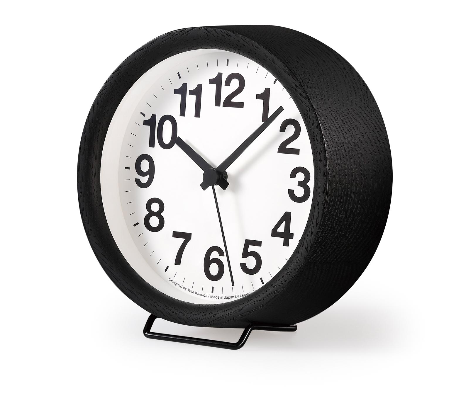 lemnos wanduhr tischuhr clock a small yk15 03bk g nstig auf kaufen wanduhren. Black Bedroom Furniture Sets. Home Design Ideas