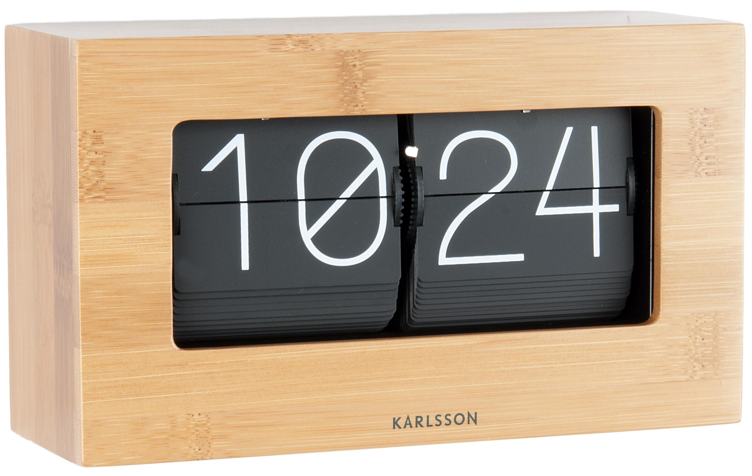 tischuhr karlsson ka5620wd g nstig auf kaufen wanduhren tischuhren wecker online. Black Bedroom Furniture Sets. Home Design Ideas